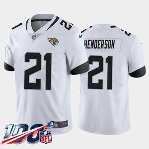 Jacksonville Jaguars C.J. Henderson White Jersey